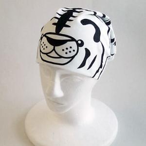 なりきりバンダナ ホワイトタイガー トラ,とら,虎,寅|kewpie