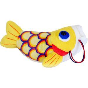 五月人形 こいあそび M イエロー 鯉のぼり_ぬいぐるみ|kewpie