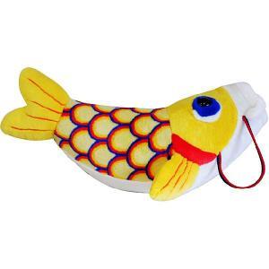 五月人形 こいあそび L イエロー 鯉のぼり_ぬいぐるみ 送料無料|kewpie