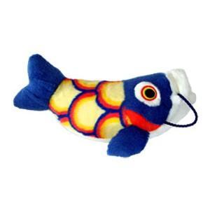 五月人形 こいあそび S ブルー 鯉のぼり ぬいぐるみ|kewpie
