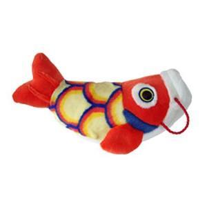 五月人形 こいあそび S レッド 鯉のぼり ぬいぐるみ|kewpie