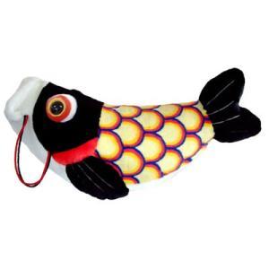 五月人形 こいあそび L ブラック 鯉のぼり ぬいぐるみ 送料無料|kewpie