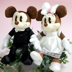 ディズニー ミッキー&フレンズ ミッキー&ミニー ウェディングぬいぐるみペアセット Disney kewpie