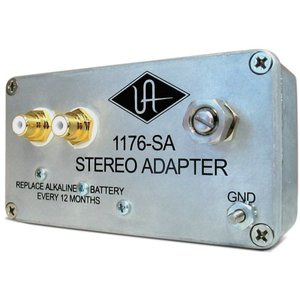 1176-SAを使うことでステレオ仕様のオペレーションが可能となります