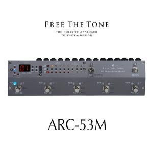 Free The Tone フリーザトーン ARC-53M Audio Routing System スイッチャー SILVER シルバー|key