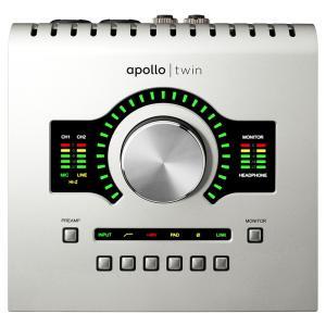 DSPシステム搭載テーブルトップタイプ・高品位オーディオインターフェイスAPOLLO TWIN待望の...