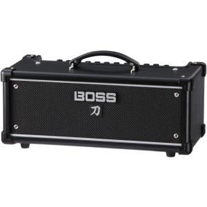 BOSS KATANA-HEADは、その名の通りエッジの効いたロック・サウンドを特長とする、100W...