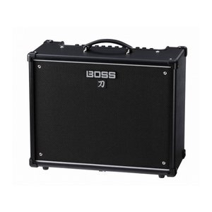 BOSS KATANA-50は、その名の通りエッジの効いたロック・サウンドを特長とする、50Wの出力...