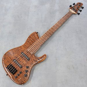 エレキベース dragonfly SJ-5 CUSTOM Q.MAPLE/MAHOGANY|key