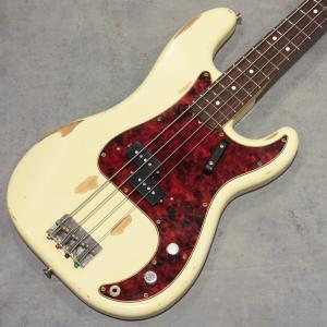 エレキベース プレシジョンベース Fullertone Guitars PRO-BAGANDA 60 Heavy Rusted Vintage White #1907300 key