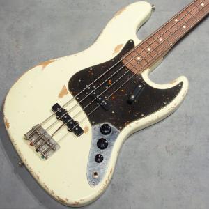 エレキベース ジャズベース ジャズベ Fullertone Guitars JJAY-BEE 60 Rusted Vintage White #1901240 送料無料 key
