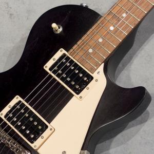 ギブソン エレキギター Gibson Les Paul Faded Tribute Worn Ebony 【送料無料】 key 04