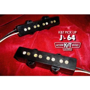 K&T MODERN VINTAGE GUITARS / J-64【これぞジャズベサウンド・完全手巻きJBピックアップ】 【 送料無料!】 key