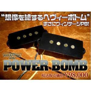 K&T MODERN VINTAGE GUITARS / POWER BOMB 【完全手巻ピックアップで再現するヴィンテージPBサウンド】 【 送料無料!】 key