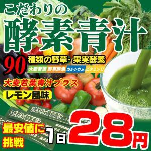 人気のすっきりフルーツ味 酵素青汁【送料無料】...の関連商品1