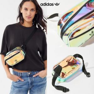 仕入れ在庫わずか★【Adidas Originals】クリア ベルトバッグ ウエストバッグ トレフォ...