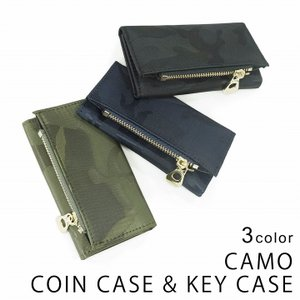 キーケース 財布 メンズ 小銭入れ コインケース カード入れ カモ 迷彩柄 レディース キーズ Keys-014 keys