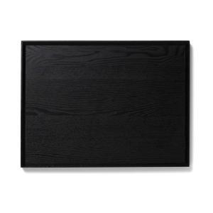 トレー 木製   kulmio ファミリートレイ ブラック KEYUCA(ケユカ) (グッドプライス) keyuca