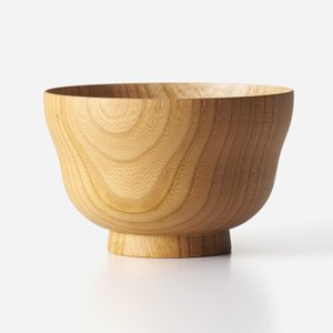 KEYUCA(ケユカ)食洗 国産椀 ヒサゴ 白木|keyuca