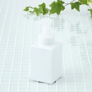 KEYUCA(ケユカ) ソープディスペンサー 詰め替えボトル | square バブルボトル II|keyuca