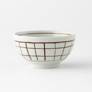 KEYUCA(ケユカ) 茶碗 ごはん茶碗 | Guni 茶碗 チェック柄|keyuca