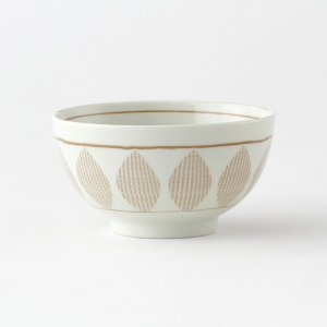 KEYUCA(ケユカ) 茶碗 ごはん茶碗 | Guni 茶碗 リーフ柄|keyuca