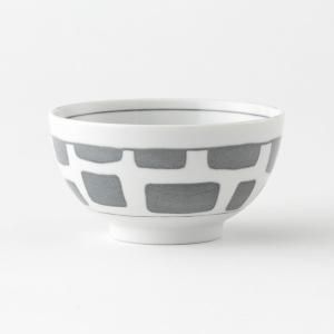 KEYUCA(ケユカ) 茶碗 ごはん茶碗 | Guni 茶碗 ブロック柄|keyuca