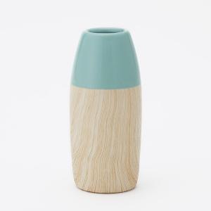 花瓶 陶器   mokkuII フラワーベース M 5.6×12.4cm KEYUCA(ケユカ) keyuca