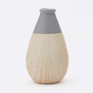 花瓶 陶器   mokkuII フラワーベース L 9×15.3cm KEYUCA(ケユカ) keyuca