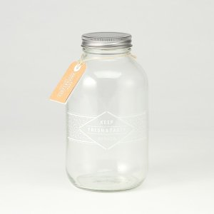 (特別価格)KEYUCA(ケユカ) ガラスジャー グラスジャー | F&T ガラスジャー 1800ml|keyuca