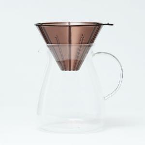 ドリッパーセット カラフェセット コーヒーサーバー | pausa コーヒーカラフェセットII 600ml KEYUCA(ケユカ)|keyuca