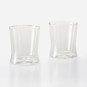 グラス 二重構造 | NeizaII ダブルウォールグラス 230ml 2個セット KEYUCA(ケユカ) (グッドプライス)|keyuca