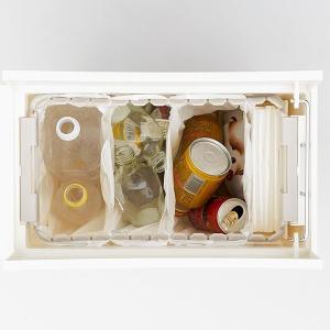 ゴミ箱 ごみ箱 おしゃれ キッチン シンプル ふた付き スリム | 送料無料 arrots ダストボックス ごみ箱 ゴミ箱 2個セット KEYUCA(ケユカ)|keyuca|05