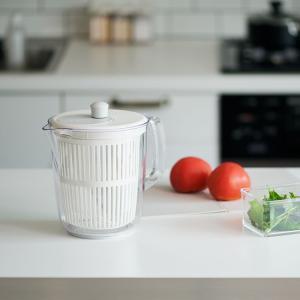 水切り器 野菜水切り器 野菜水切り 野菜 水切り|スリム サラダスピナー KEYUCA ケユカ