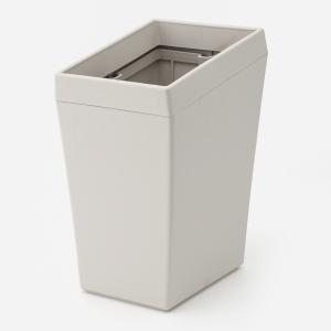 ゴミ箱 おしゃれ | スレント ダストボックス ライトグレー KEYUCA(ケユカ) (グッドプライス)|keyuca