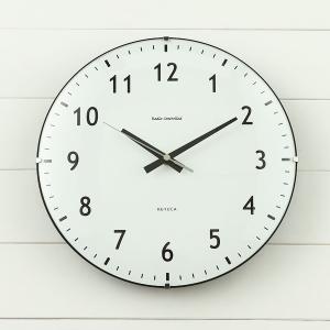 掛け時計 掛時計 | Antiq 電波クロック ブラック KEYUCA(ケユカ)|keyuca