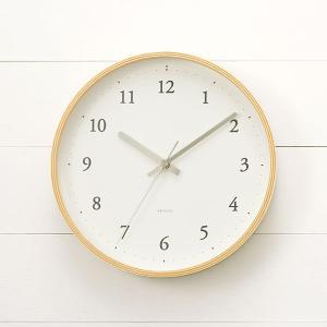 掛け時計 掛時計 | rondo クロック ナチュラル KEYUCA(ケユカ)|keyuca