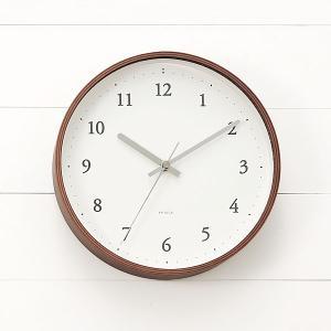 掛け時計 掛時計 | rondo クロック ダークブラウン KEYUCA(ケユカ)|keyuca