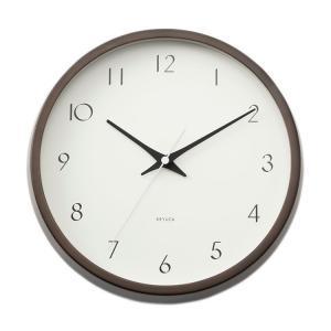 掛け時計 掛時計 | ode クロック II ダークブラウン 送料無料 KEYUCA(ケユカ)|keyuca