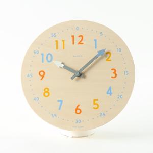 置き時計 壁掛け時計 | colom クロック 時計 ナチュラル KEYUCA(ケユカ)|keyuca