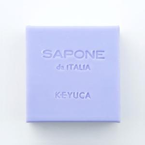 KEYUCA(ケユカ) 石けん サシェ | サポーネ スクエアソープ ラベンダーフラワー|keyuca