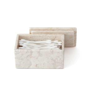 KEYUCA(ケユカ) コットンケース 綿棒入れ | marble コンパクトケース|keyuca