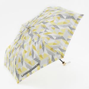 折りたたみ傘 晴雨兼用傘 | 折畳傘 晴雨兼用 ジオメトリック イエロー KEYUCA(ケユカ)|keyuca