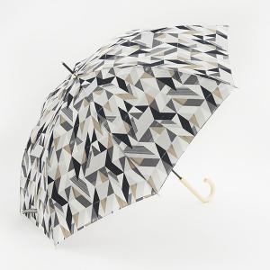 長傘 晴雨兼用傘 | 長傘 晴雨兼用 ジオメトリック ブラック KEYUCA(ケユカ)|keyuca