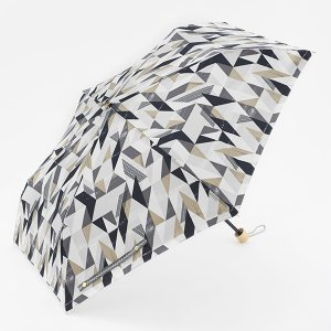 折りたたみ傘 晴雨兼用傘 | 折畳傘 晴雨兼用 ジオメトリック ブラック KEYUCA(ケユカ)|keyuca