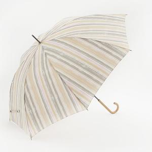 長傘 晴雨兼用傘 | 長傘 晴雨兼用 ウォーターストライプ ライトピンク KEYUCA(ケユカ)|keyuca