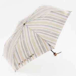 折りたたみ傘 晴雨兼用傘 | 折畳傘 晴雨兼用 ウォーターストライプ ライトピンク KEYUCA(ケユカ)|keyuca