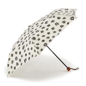 折りたたみ傘 晴雨兼用傘 | 折畳傘 晴雨兼用エアリーフラワーII アイボリー KEYUCA(ケユカ)|keyuca