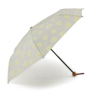 折りたたみ傘 晴雨兼用傘 | 折畳傘 晴雨兼用シマドットII グレー KEYUCA(ケユカ)|keyuca