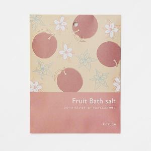バスソルト 入浴剤 | フルーツバスソルト ピーチ&ジャスミン KEYUCA ケユカ